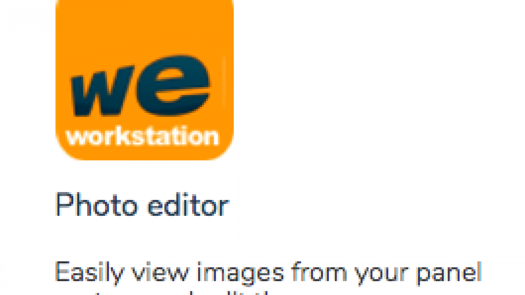 Workstation Photo Editor